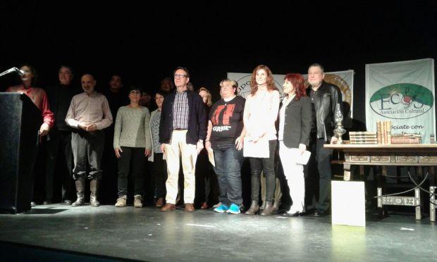Reparto de los premios del Certamen literario Allende Sierra