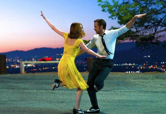 Escena de baile en La La Land