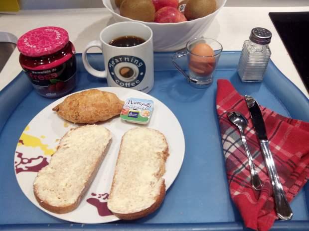 El desayuno de un autónomo