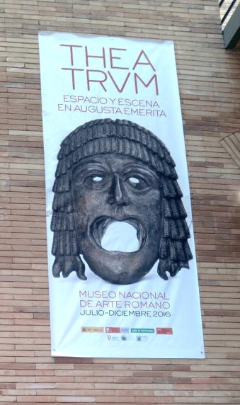 Máscara del teatro en Augusta Emérita