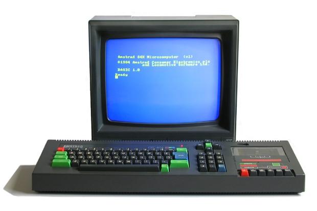 Tener un Amstrad no nos preparó para este futuro