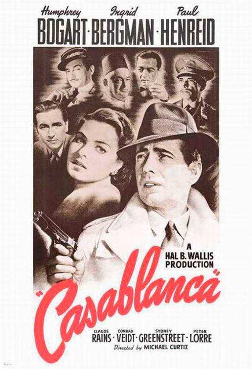 En Casablanca, Sam tocaba una canción que Rick le había prohibido