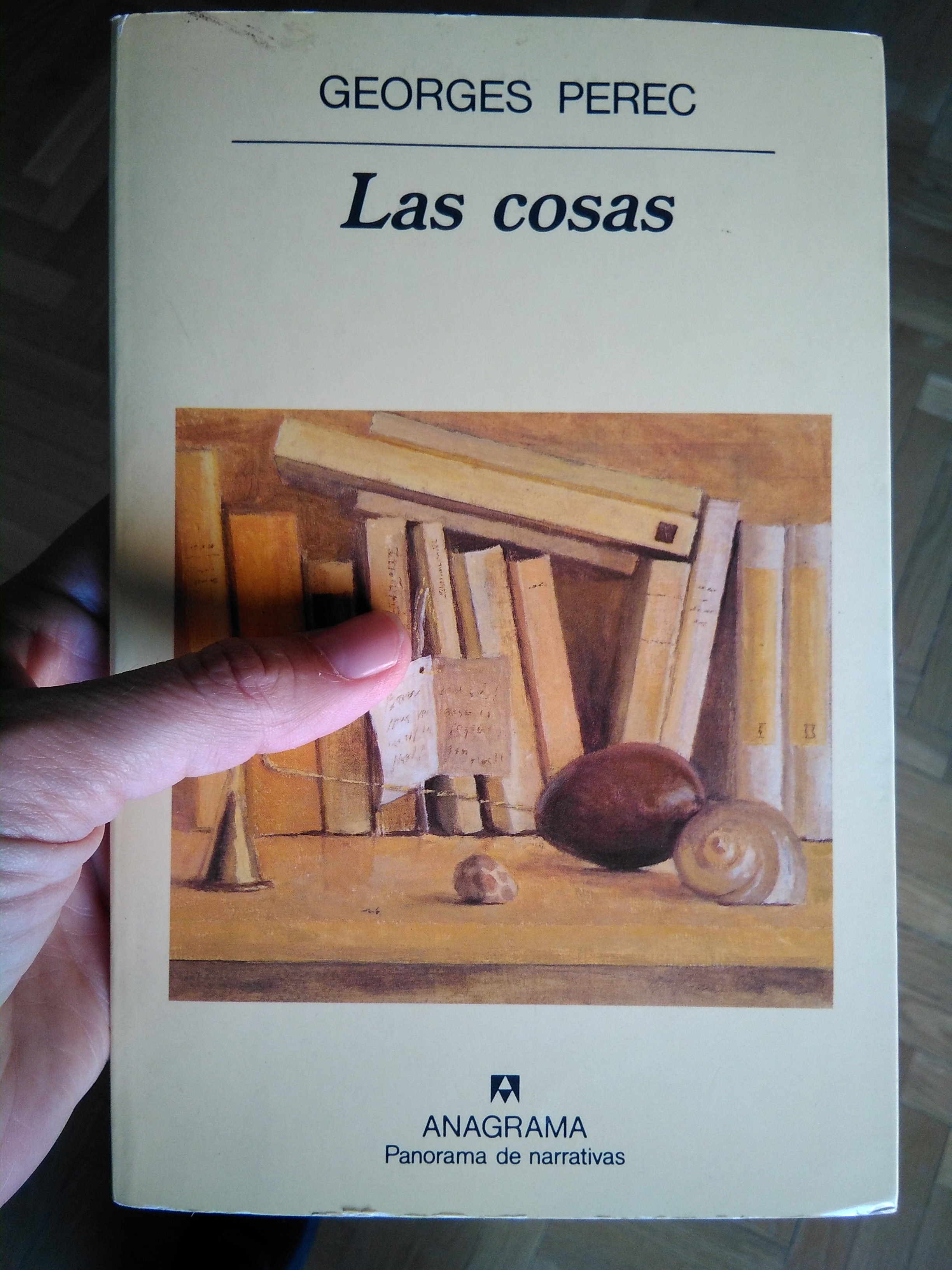 Portada del libro Las cosas, de Georges Perec