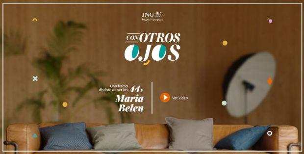 Carátula del vídeo con que ING felicita a sus clientes