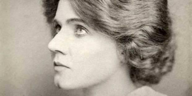 Fotografía de la actriz de cine mudo Florence Lawrence