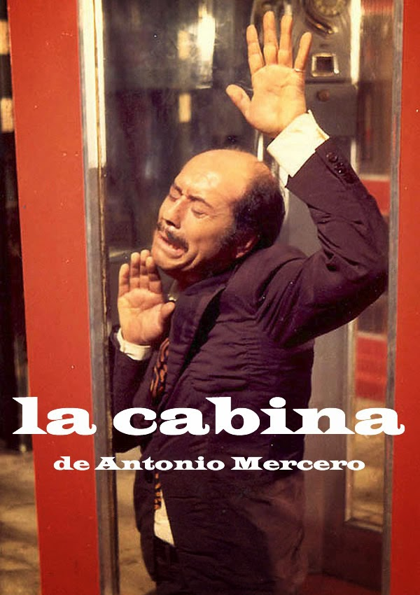 Cartel de la película La cabina, de Antonio Mercero