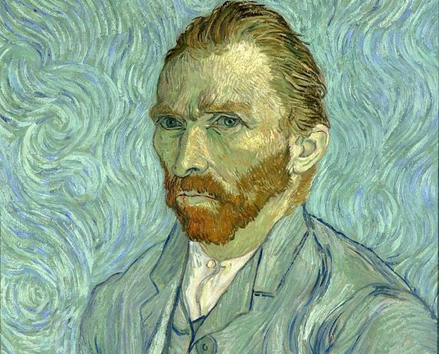 Retrato de Vincent Van Gogh